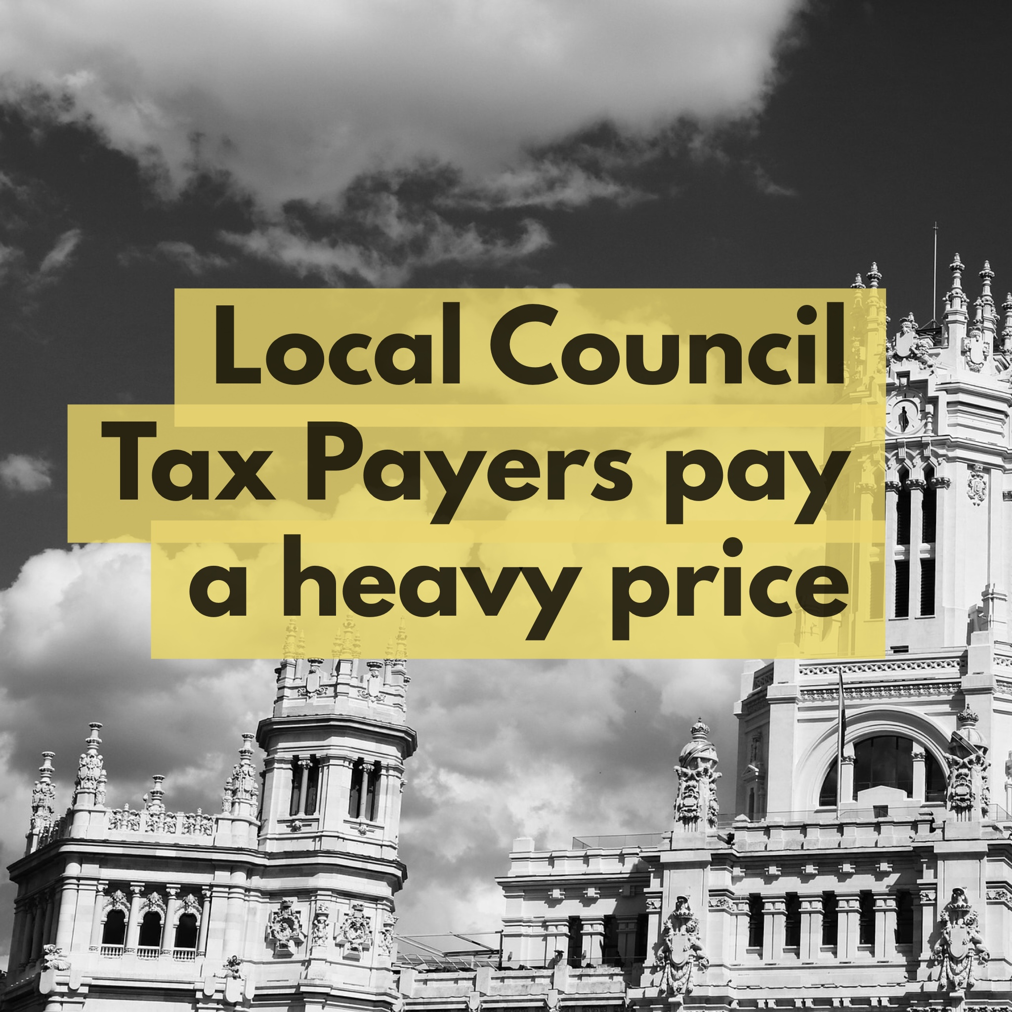 Canterbury Council Tax Payers Stung by 46.75% above Inflation Rise
