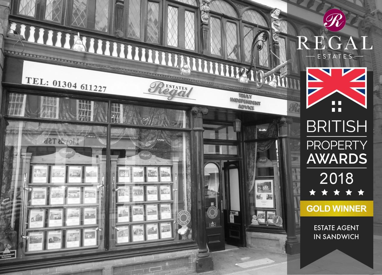 Sandwich Office Wins 'British Property Awards' 2nd Year Running!