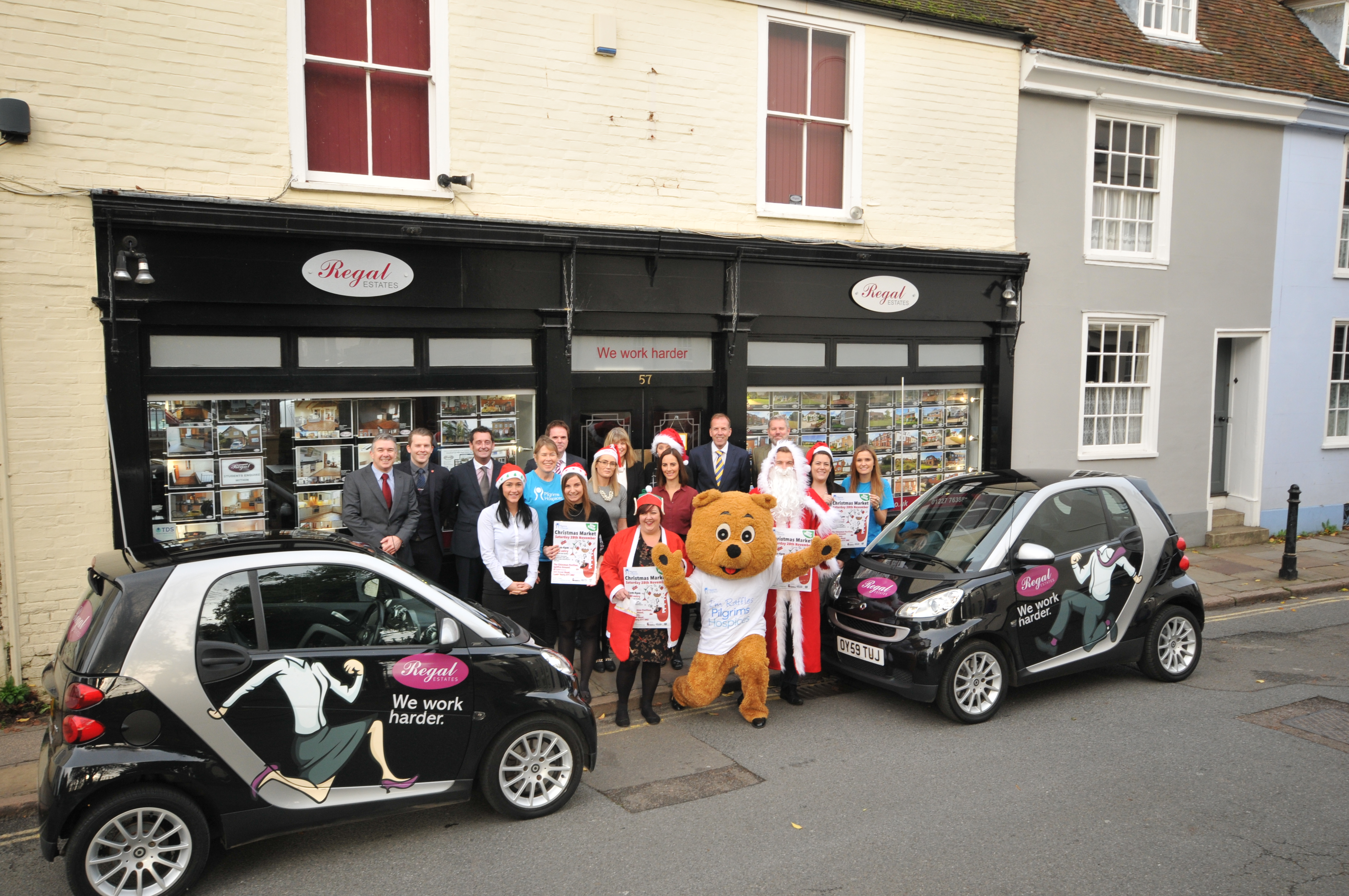 Regal Estates are main sponsors of the Pilgrims Hospice Canterbury Christmas Market for the second year running….