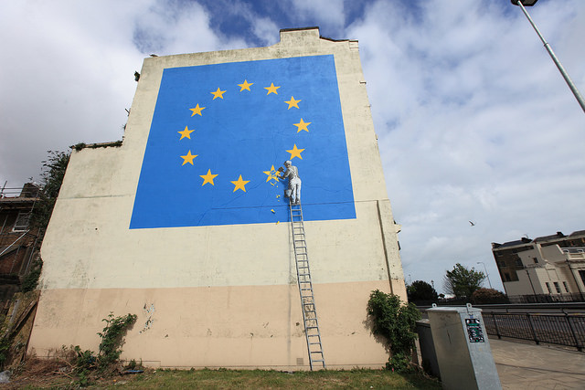 Banksy's has unveiled his lastest mural in our local town of Dover